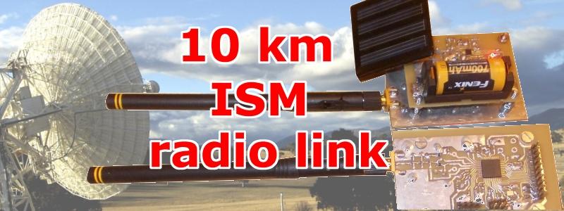 Build a low-power 10 km radio link