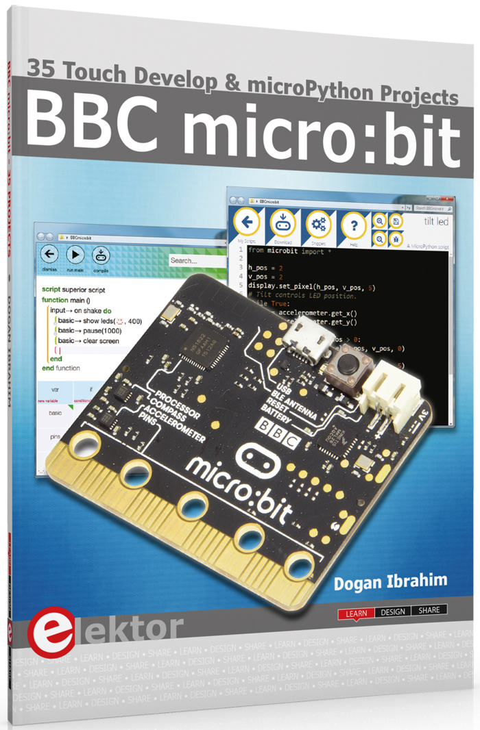 Elektor introduces the World's First BBC micro:bit Book