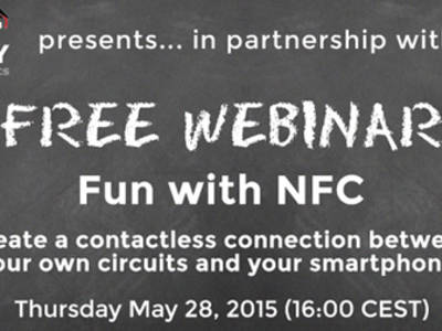 Elektor and Element14 bring you the NFC Webinar