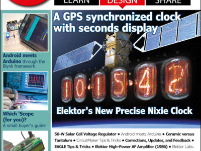 Edition 3/2016 of Elektor Magazine now available!
