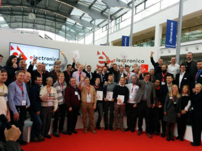 Participants of the electronica Fast Forward Awards 2016