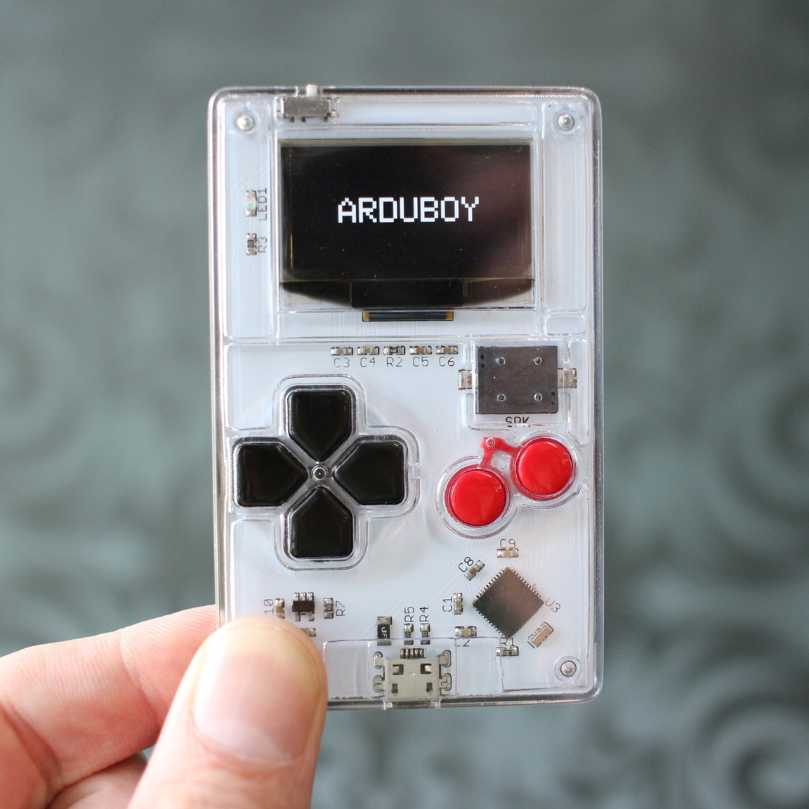 Arduboy: a credit card size game system with 8-bit look & feel!
