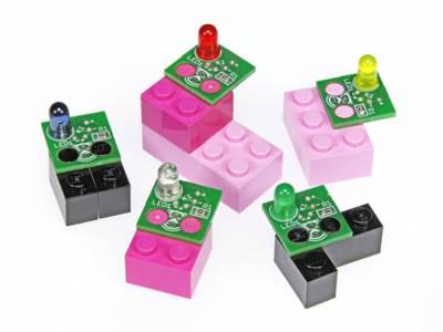 Free Project: Elektorized Lego LED