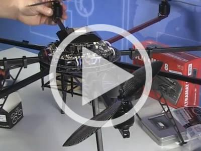 Elektor.TV | Building the MultiKopter EASY Okto XL2 4S