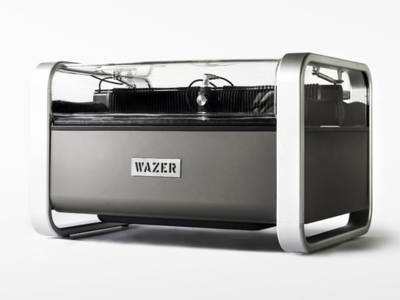 WAZER: a tabletop water-jet cutter