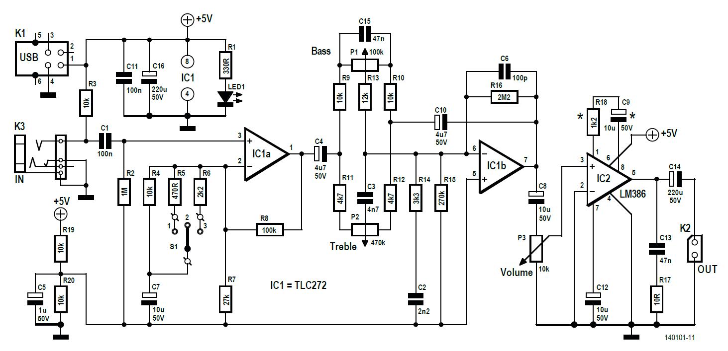 post project 61  karaokay microphone amplifier