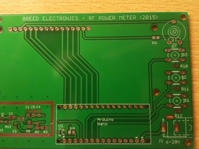 PCB as delivered by Seeed Studio