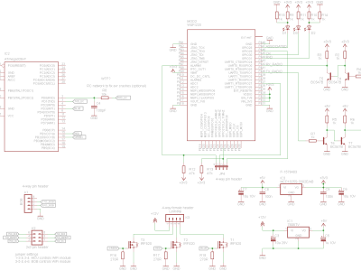 circuit board relays current sensing circuit wiring