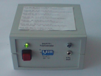 DCF-Tester and Transmitter
