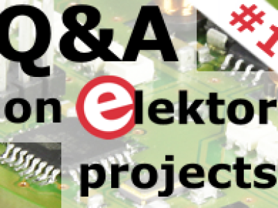 Q&A on Elektor Projects (Session #1 - March 18th, 2014)