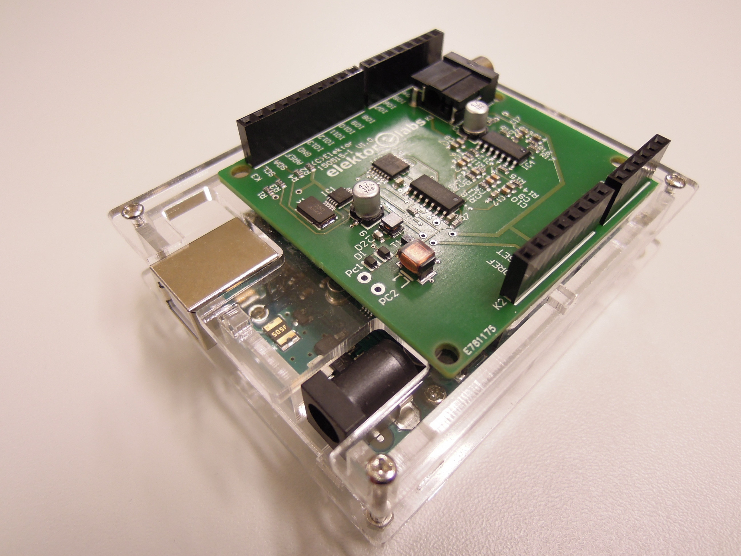 Software defined radio sdr shield for arduino
