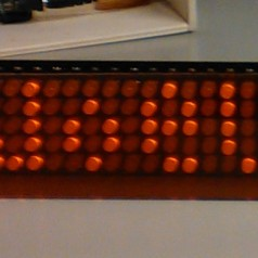 Scrolling LED Marquee